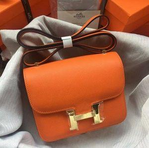 Hermes Constance Bag New Check Description